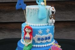 Ariel Elsa taart