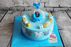 Baby shower taart 1
