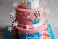 Frozen taart 1