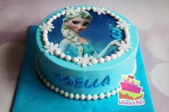 Frozen taart 2