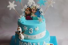 Frozen taart 3