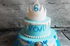 Frozen taart 4