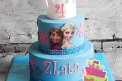 Frozen taart 6