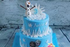 Frozen taart 8