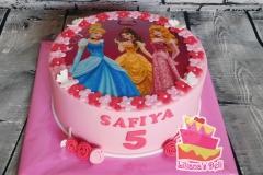 Prinsses taart 1