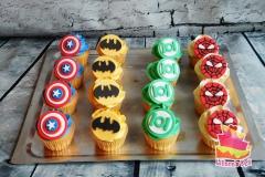 cupcakes super helden