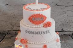 eerste communie taart
