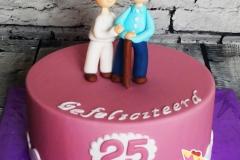 taart 25 jaar jubileum