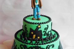 zombie taart